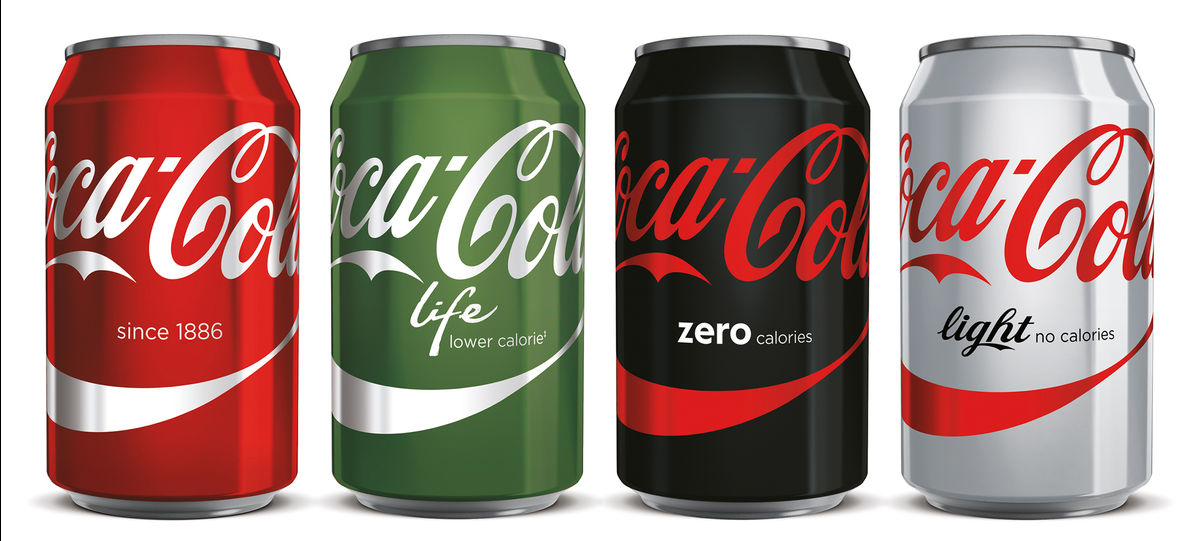 coca cola brand extension